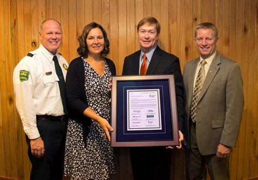 Florida Forest Service Receives Prestigious Sustainability Certification